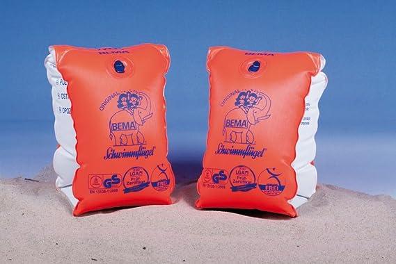 Hoffmann - Manguitos para niños de 11-30 kg, color naranja (13600): Amazon.es: Deportes y aire libre