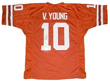 low cost 408af e854f Signed Vince Young Jersey - #10 - Tristar Productions ...