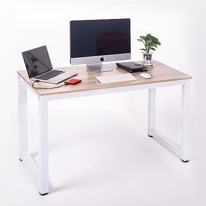 amazon com merax modern simple design computer desk table rh amazon com
