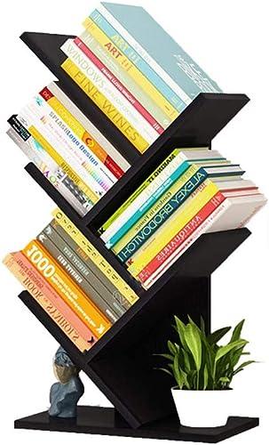 Cheap Tree Bookshelf Small Bookcases 5-Tier Book Shelves Floor Standing Tree Book Rack modern bookcase for sale
