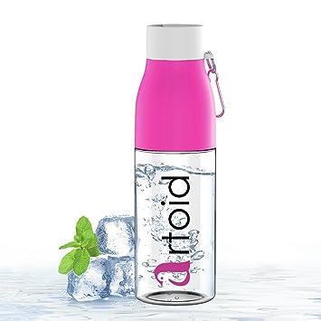 Artoid Mode 700ml Botella de Agua Botella de plástico sin BPA con Giro-Bloqueo,