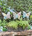 Painted Mosaic Garden Stones, Set of 3