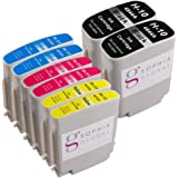 Sophia Global Compatible Ink Cartridge Replacement for HP 10 and HP 11 (2 Black, 2 Cyan, 2 Magenta, 2 Yellow)
