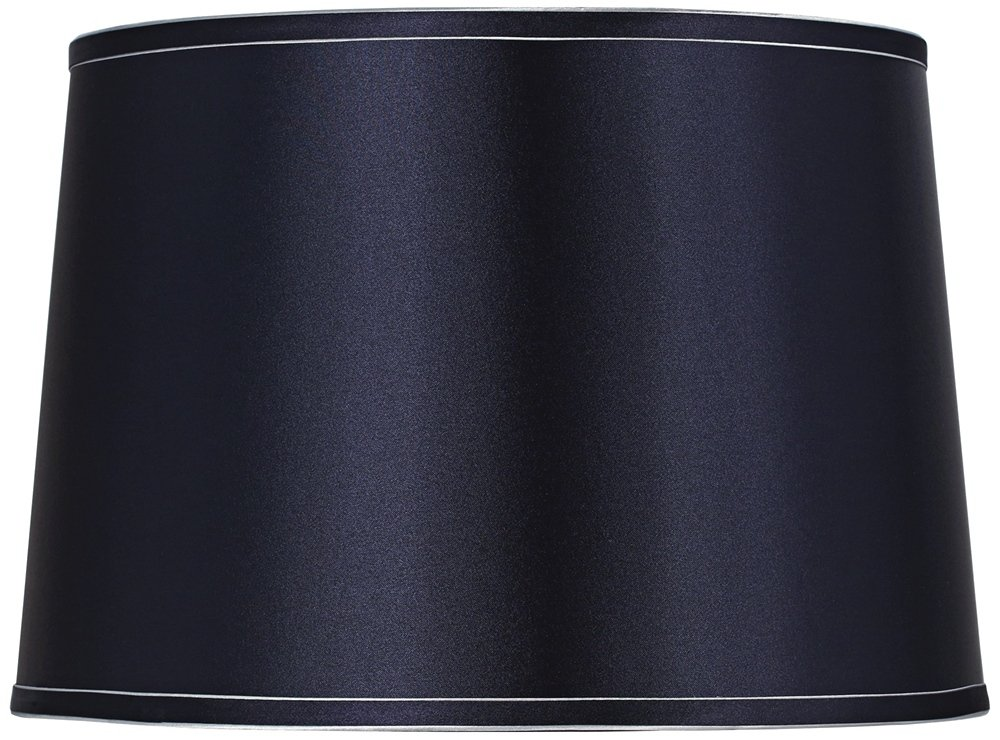 Sydnee Navy with Silver Trim Drum Shade 14x16x11 (Spider)