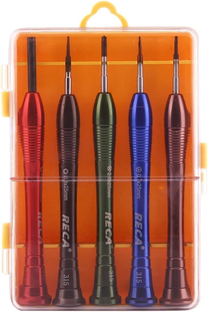 Repair-Kits 315 5 in 1 25mm Screwdriver Set for Smart Phones Tablets