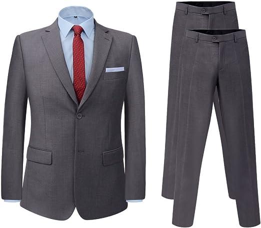 Fijo Night Hombre Business de traje Set Señor Traje Slim Fit Traje ...