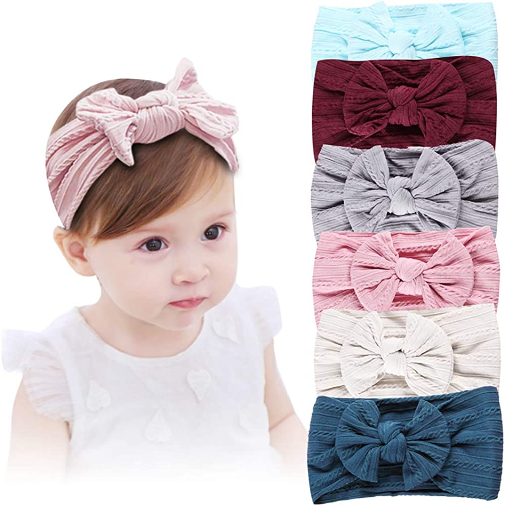Baby Girl Headbands, Girl's Hairbands and Bows for Newborn,Toddler, Childrens Hair Accessories
