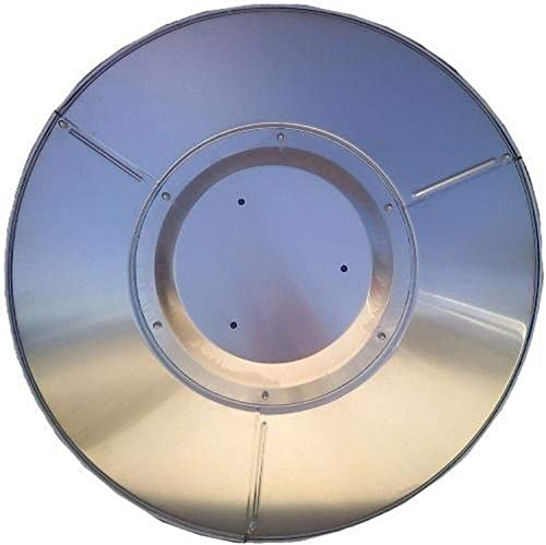 Hiland THP 3HOLE Heat Reflector Shield, Pack of 1, Silver