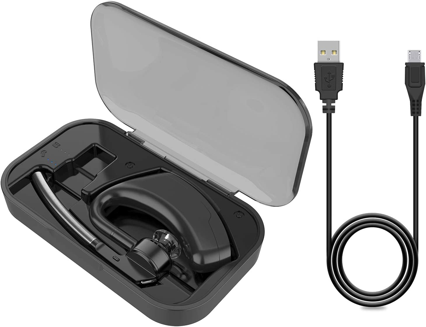 Amazon Com Power Charging Case For Plantronics Bluetooth Headset Voyager Legend 2 In 1 Portable Charge Case With Led Indictator For Voyager Legend Headset