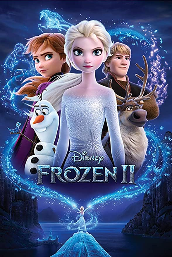 Frozen 2 - Movie Poster (Regular Style) (Size: 24 x 36 inches)