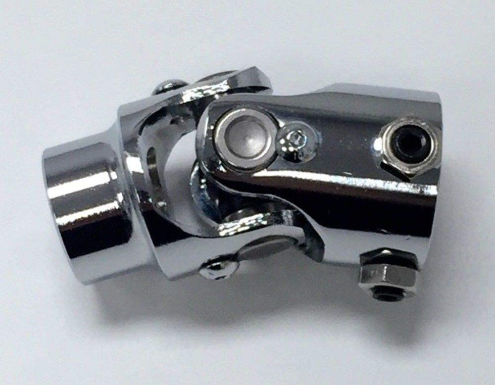 Pirate Mfg Forged Steel Chrome Universal Single Steering U-Joint 3//4 Dd X 5//8-36 Spline