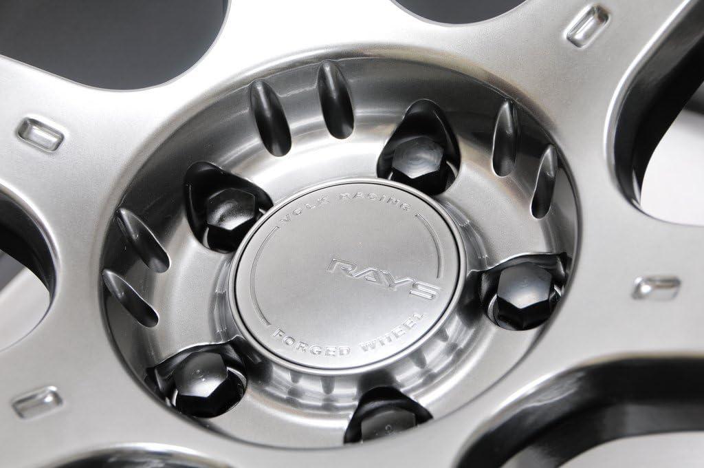 Set of 20 Mevius 40603B Black 14mm x 1.5 x 50mm Thread Size Cone Seat Lug Bolt,