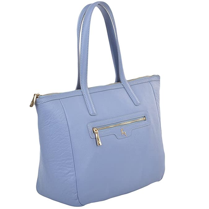 Ashwood Womens Leather Tote Bag Corn blue   61638 NA  Amazon.co.uk  Shoes    Bags 6ba10c2600eb7