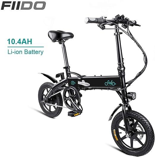 FIIDO Bicicleta Electrica Plegables, Motor Bicicleta Plegable Bici ...