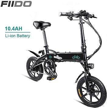QoLeya FIIDO D1 Bicicleta Eléctrica, Bicicleta eléctrica Ligera ...