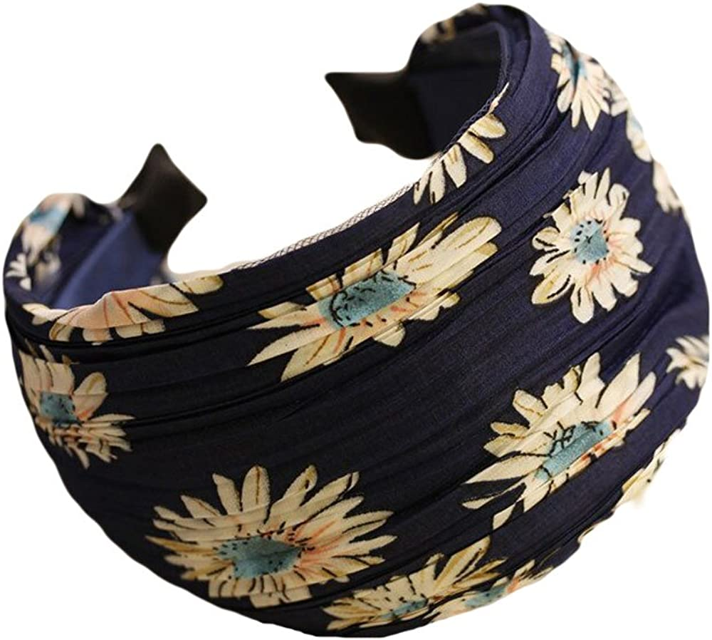 Qiabao Floral Lace Pleat...