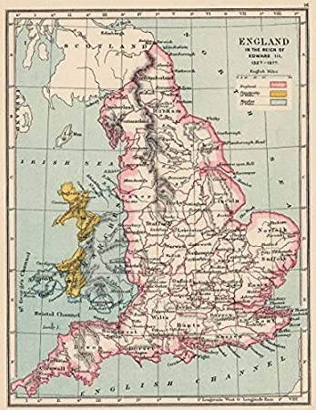 ENGLAND  WALES 13271377 Reign of Edward III Principality