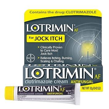 Amazon com: Lotrimin AF Jock Itch Antifungal Cream