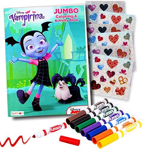 Disney Studios Vampirina Coloring Book Super Set with Vampirina Stickers and More
