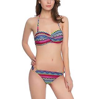 Schöne Frauen im Bikini-Höschen