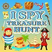 I Spy Treasure Hunt: A Fun Activity Book Things Guessing Game for Kid, Toddler and Preschool, Amazing Gift - L
