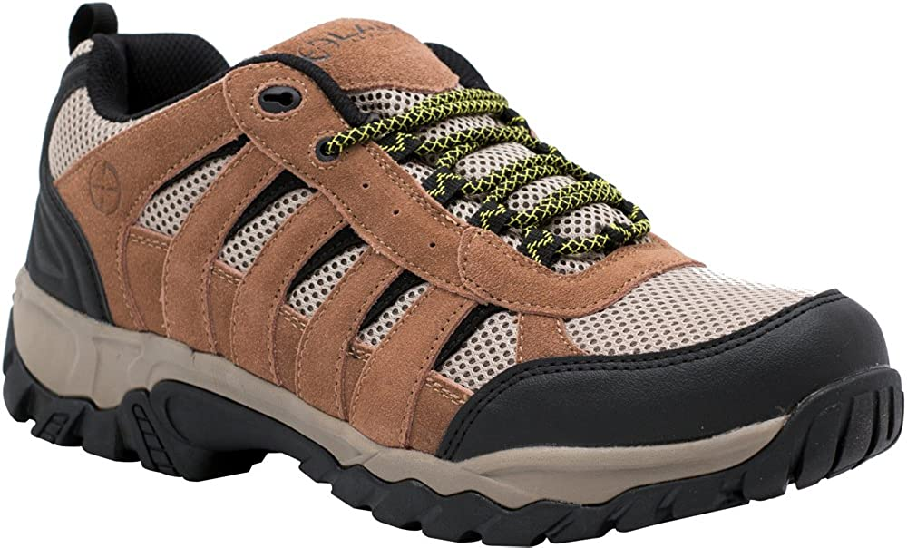 LAPG Fabric-Leather Low Atlas Hiker Shoe