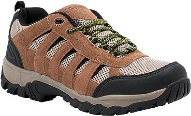 LA Police Gear Brown Low Atlas Hiker Shoe   B06W2HD53J