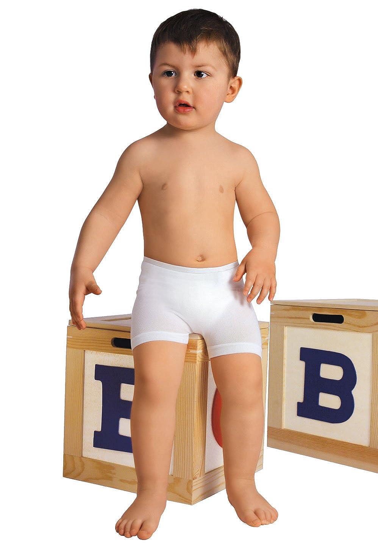 RelaxMaternity Baby 5912 Boxer enfant antibactérien avec fibre Crabyon taille unique 6-36 mois