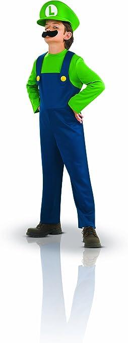 Rubies - Disfraz de Luigi™ para niño, tamaño S (3/4 años): Amazon ...