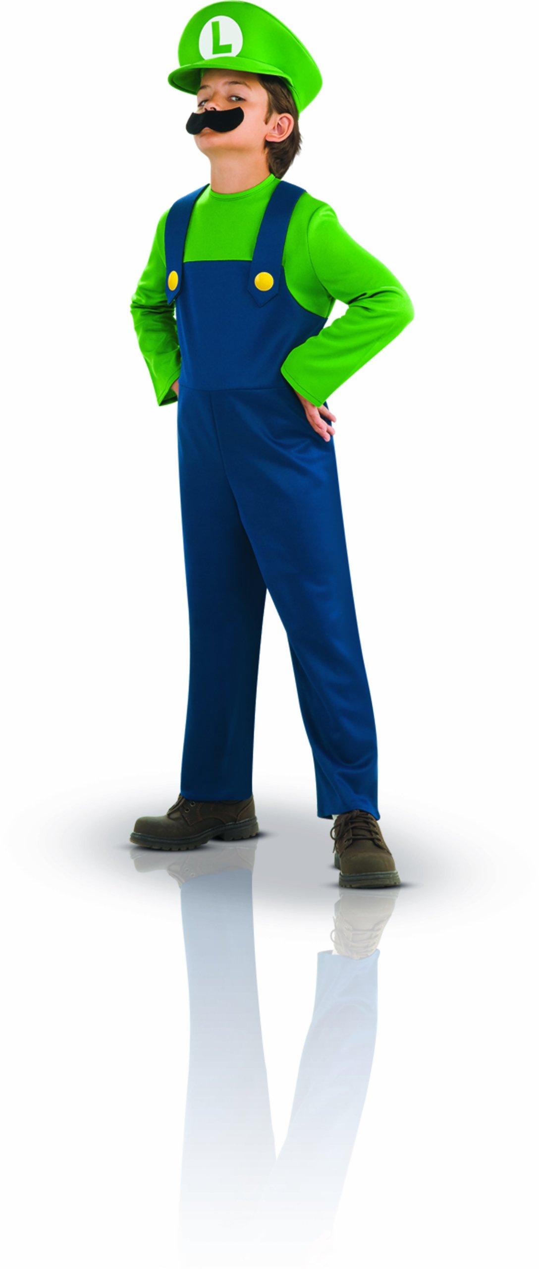 Super Mario Brothers, Luigi Costume, Small by Rubie's