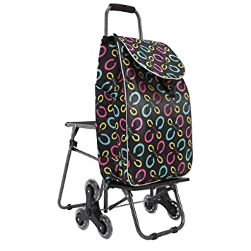Folding Chair Home Carrito de Equipaje Plegable Carrito de ...