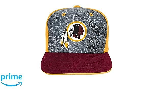 a86fdda249283 Amazon.com   NFL Washington Redskins Magna Flat brim Snapback Cap ...