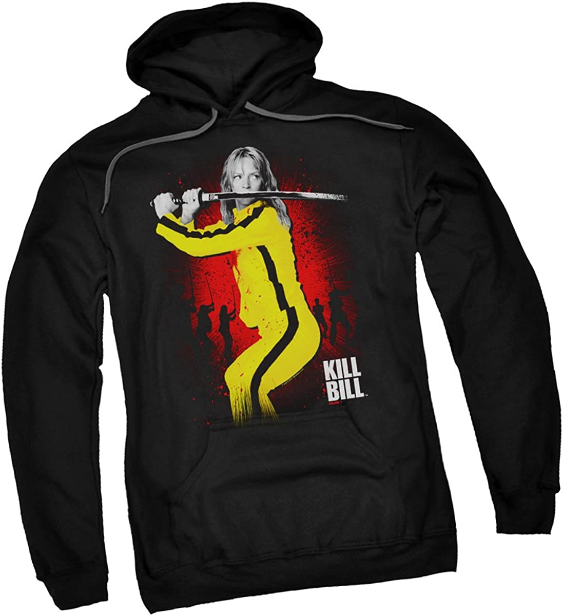 Kill Bill Surrounded Licensed Adult Pullover Hoodie