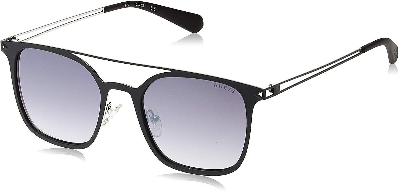 Guess Unisex Adults/' GU6923 09B 53 Sunglasses Grey Antracite Op//Fumo Grad