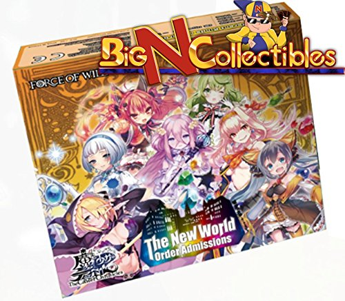 The Caster Chronicles ENGLISH Booster Box Vol. 3 The New World Order Admissions -