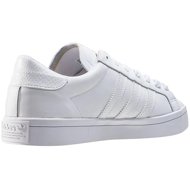 info for 3bf59 1975c Adidas Originals Court Vantage Herren Sneaker Leder Schuhe Amazon.de  Schuhe  Handtaschen