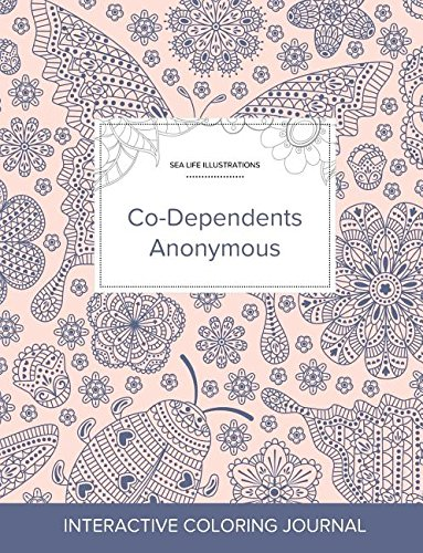 Adult Coloring Journal: Co-Dependents Anonymous (Sea Life Illustrations, Ladybug) ebook