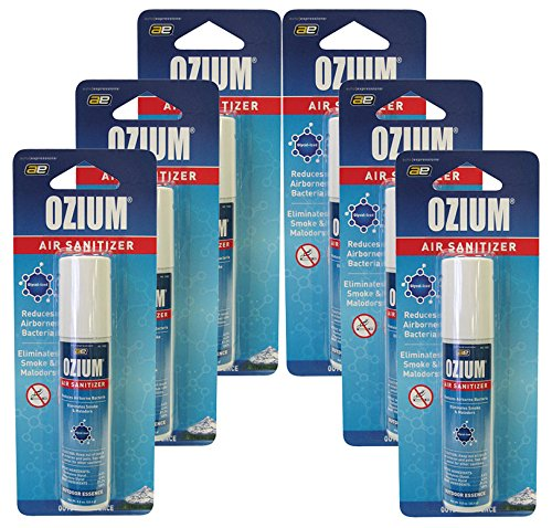 Ozium 500 -Outdoor Essence 6 Units Pack (Glycolized Air Sanitizer)
