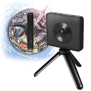 Cámaras deporte, Jiami VR Camera Dual Lens 23.88MP Sensor 3.5K Video de grabación