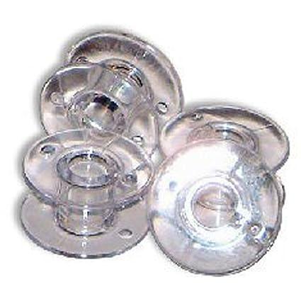 Bobinas Plásticas Transparentes de Estilo SA156 Para Maquina De Coser Brother