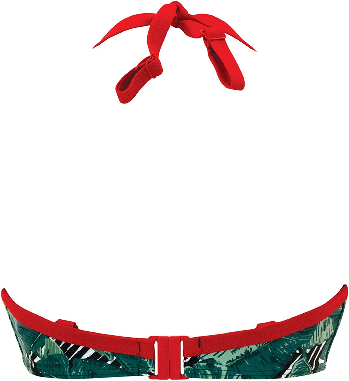 Curvy Kate Damen Paradise Palm Halterneck Bikini Bikinioberteil