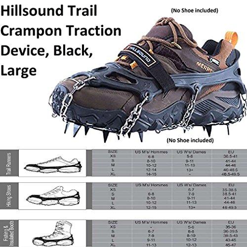 Hillsound Trail Crampon Traction Device, Black, ()