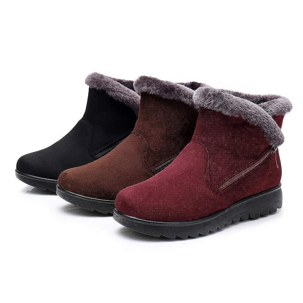 De Jiameng Zapatos Botines Mujer Tobilleras Botas B4cqPwS aec63b99b5c