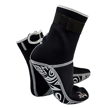 Starter Diving Socks - Calcetines de Buceo - Calcetines Profesionales de 3MM para Neopreno Buceo Material de Neopreno Equipo de Snorkel Botas Calientes de ...