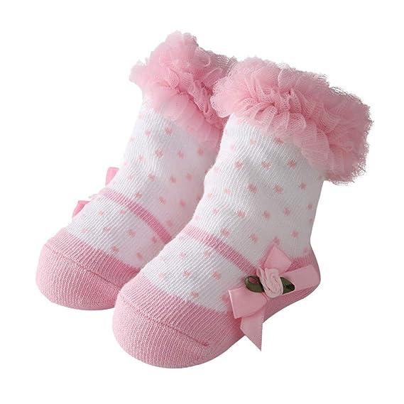 Mitlfuny Recién Nacido Calcetines Corto para Bebés de Algodón ...