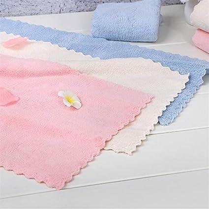 Rcdxing Juego de 3 cómodas Toallas absorbentes Suaves Toallitas Infantiles Juego de Toallas Blandura