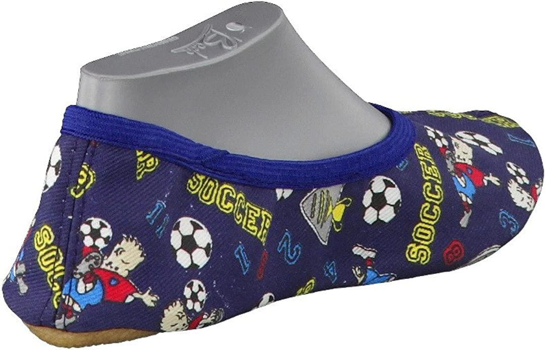 Beck 32 Blanco Zapatillas de gimnasia de lino para ni/ños