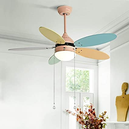 Amazon.com: ChuanHan Ceiling Fan Light Chandelier Lightings Kids ...