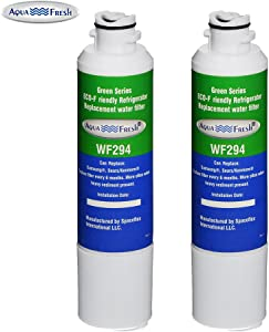 Aqua Fresh Replacement Water Filter for Samsung RF28HMEDBSR/AA Refrigerators ( 2 Pack )