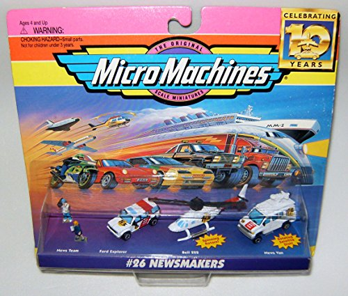 Micro Machines Newsmakers #26 Collection